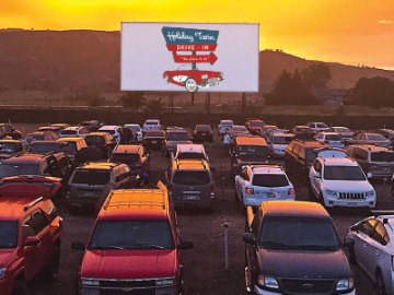 Holiday Twin Drive-in Theatre, Fort Collins, NoCo
