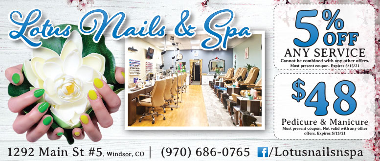 Lotus Nails & Spa Coupon Deals in Windsor, CO