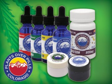 Plants Over Pills CBD, Hemp Products in Loveland, NoCo