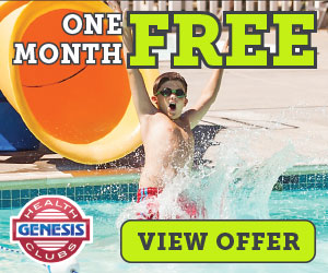 Genesis Health Clubs - Joint now for One Free Month