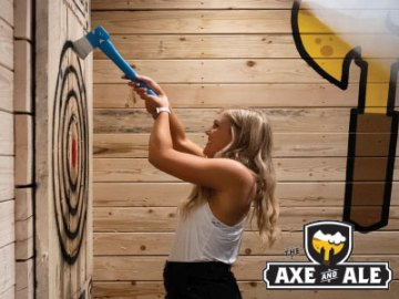 The Axe and Ale - Axe Throwing and Bar in Fort Collins, NoCo