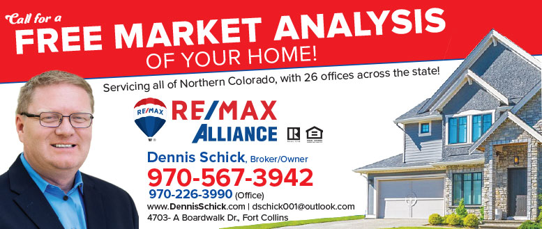 Free Market Analysis from Dennis Schick, Broker at ReMax Alliance