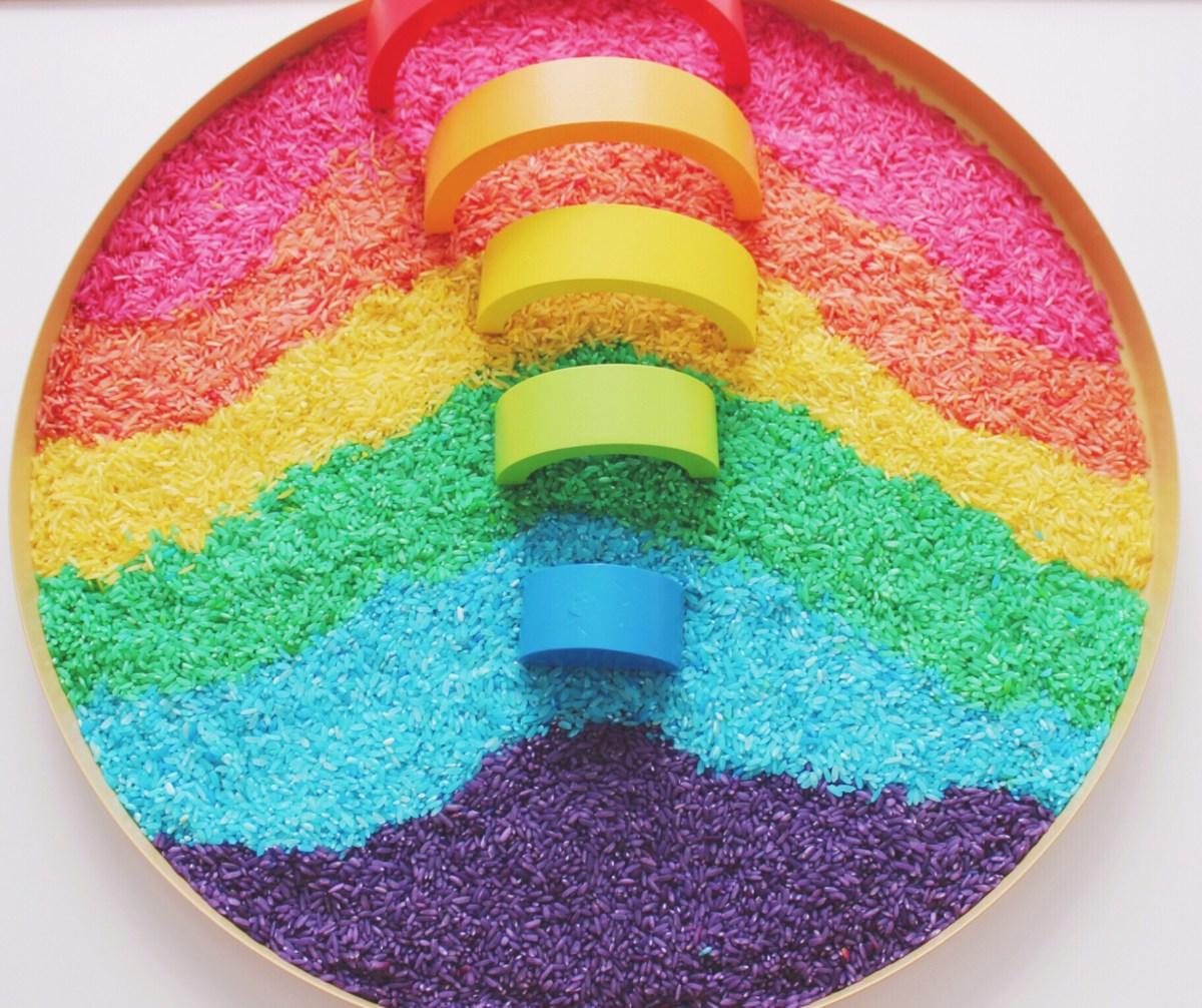 Atividades em casa #16 - As cores do arco-íris