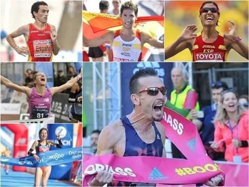 los españoles que correran el maraton en los JJOO