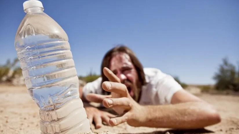 los peligros de la deshidratación