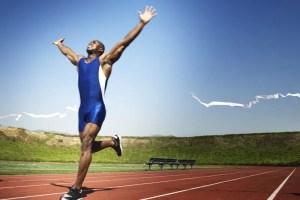 la humildad del corredor más rápido