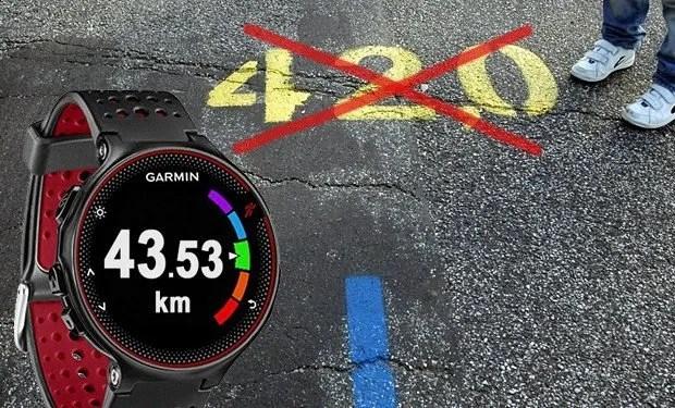 como se mide la distancia en una carrera