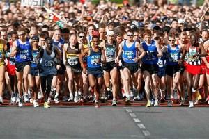 correr el maraton