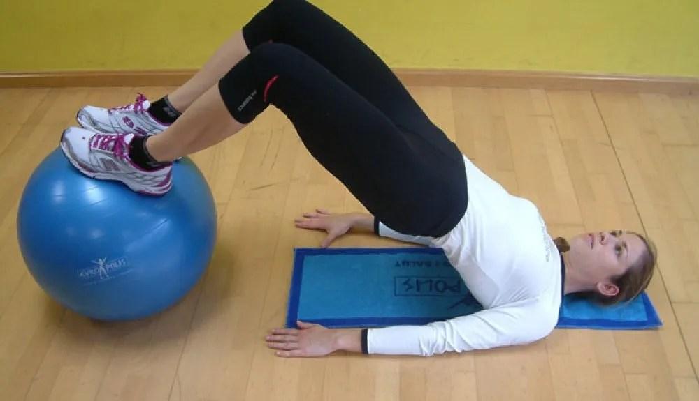 ejercicios con fitball para corredores