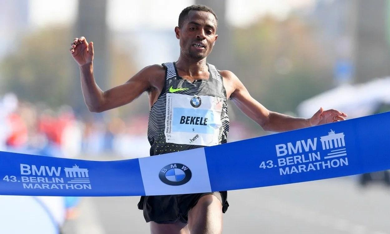 kenenisa bekele récord del mundo en maratón en Londres