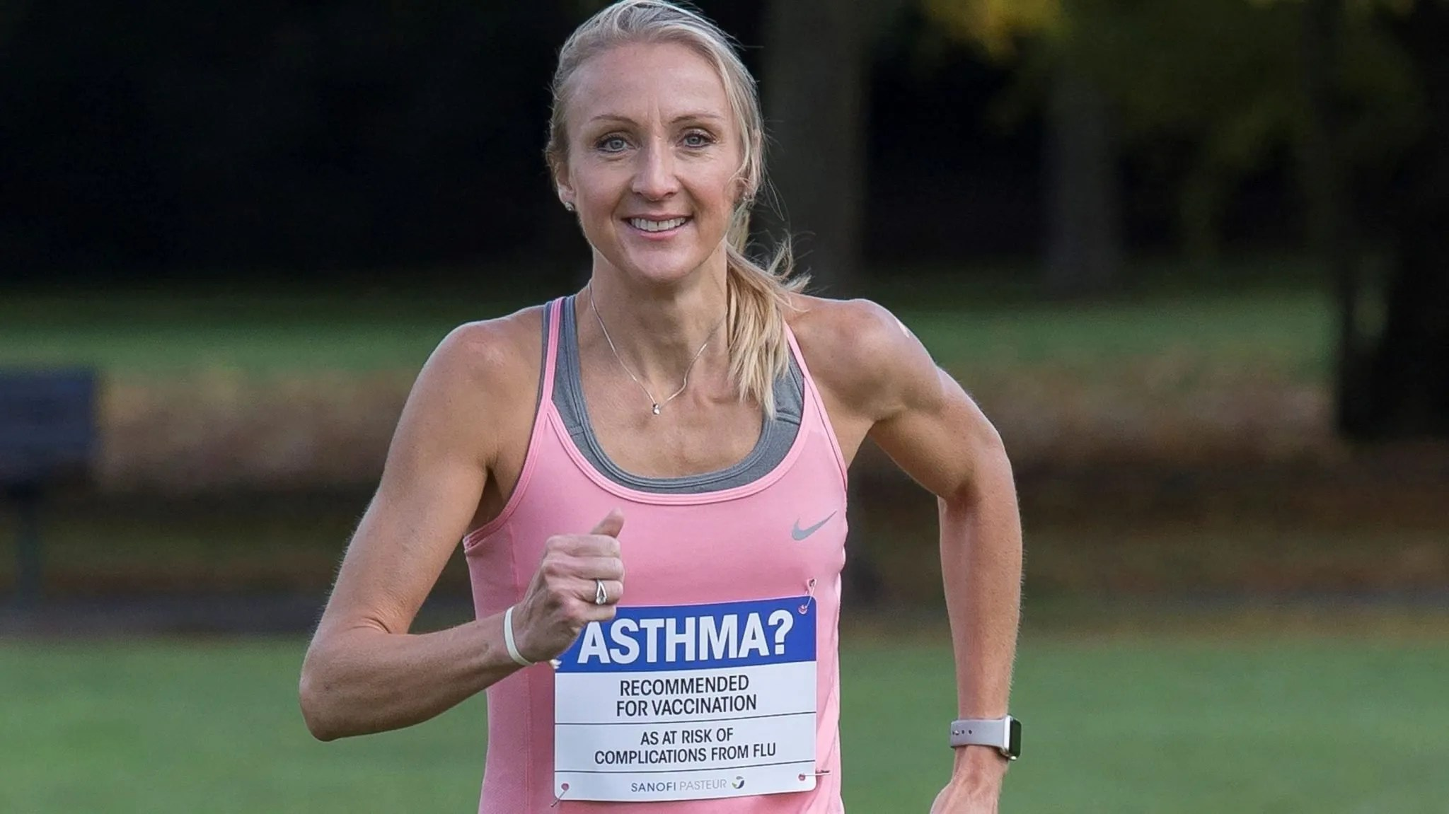 atletas de élite sufren asma