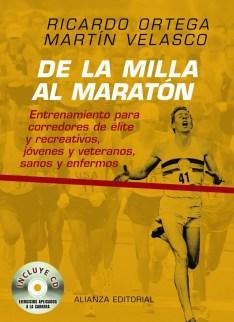 libros para corredores de la milla al maratón