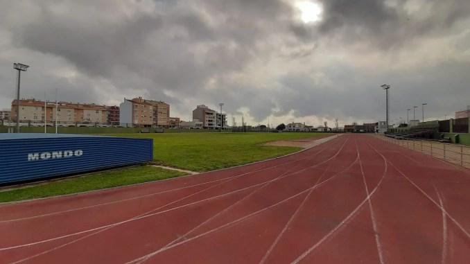 volver a entrenar en pista de atletismo desescalada