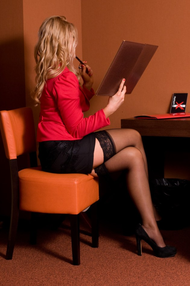 Stylizacja - Seksowna sekretarka