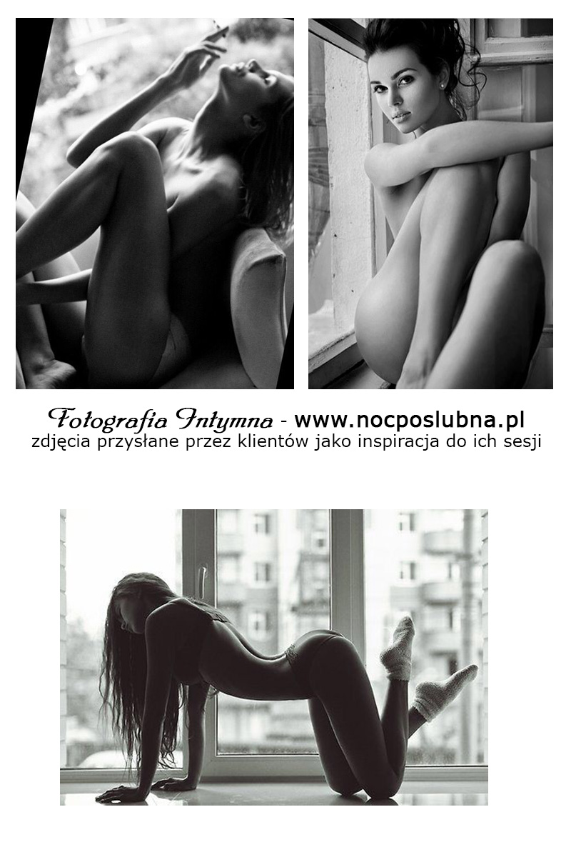 Fotografia intymna - sesja buduarowa - Zdjęcia na tle okien