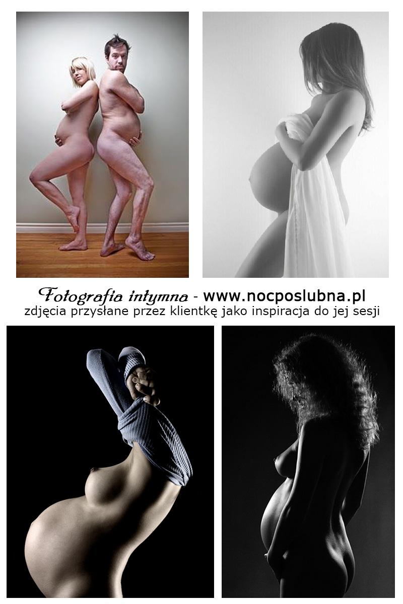 Fotografia ciążowa AKTu - może z ... dowcipnym tatusiem?
