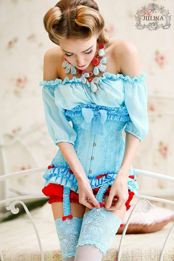 Gorset damski - Źródło obrazka: Pintrest