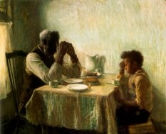 Thankful Poor by Henry Ossawa Tanner