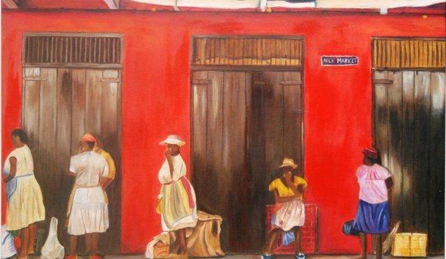 Meet Barbadian – Fine Art Creator, Marilda Weatherhead #NoCriticsJustArtist