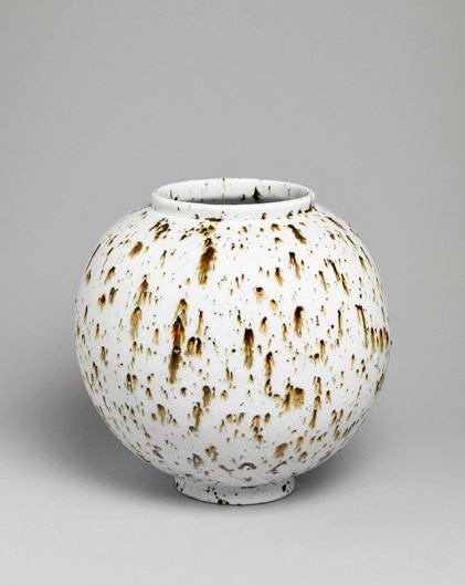 Untitled 2012 Porcelain with landscape inclusions. ht 27cm Image: Marcus Leith courtesy of Corvi-Mora, London