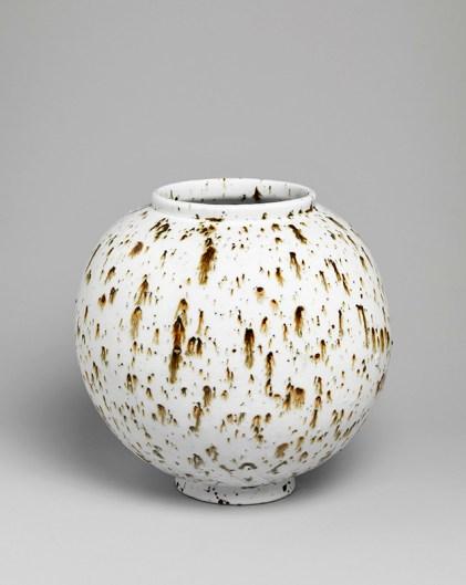 Untitled 2012 Porcelain with landscape inclusions. ht 27cm Image: Marcus Leith courtesy of Corvi-Mora, London
