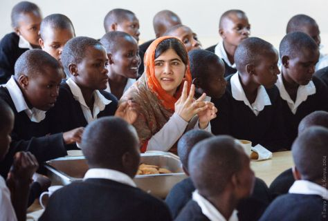 Malala in Jordan