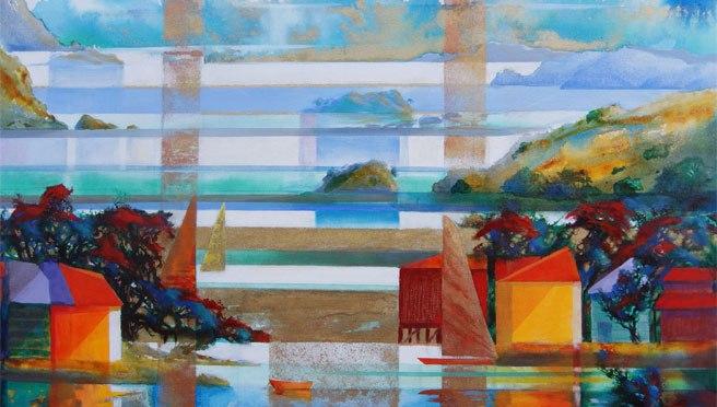 Master Watercolorist & Oil base painter, meet New Zealand fine artist, Harold Coop  #NoCriticsJustArtists