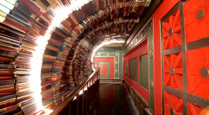 Meet Us At… 'The Last Bookstore' in @downtown_la #NoCriticsJustArtists @lastbookstorela