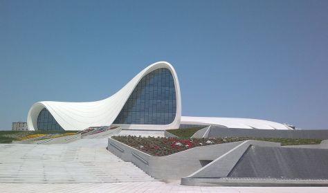 Heydar Aliyev Cultural Centre in Baku, Azerbaijan