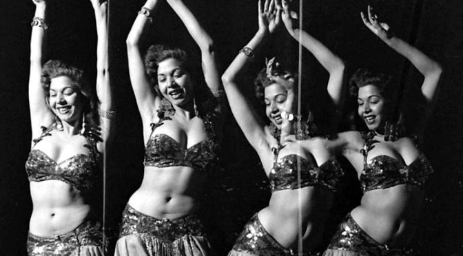 The Art Of… & Art In Reflection: Egyptian belly dancer,  سامية جمال (Samia Gamal) #NoCriticsJustArtists