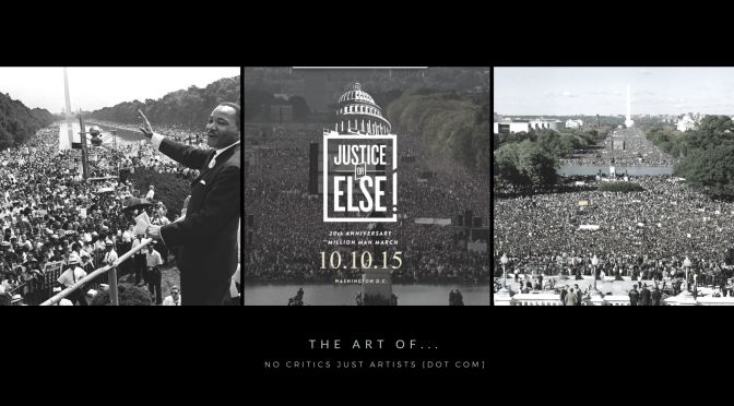 The Art of Freedom: Did You Miss It! @TheMillionManM / @JusticeOrElse 20th Anniversary #NoCriticsJustArtists