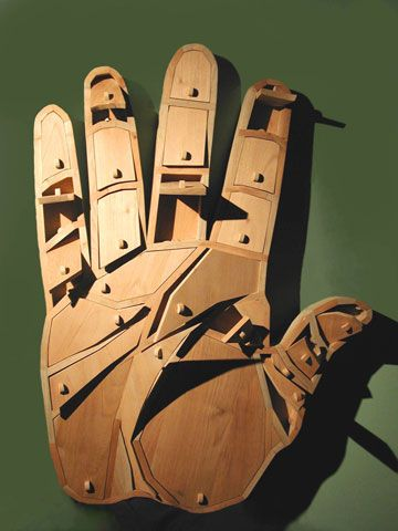 Alexandre Arrechea's 'Creative Hand'