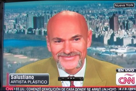 Salustiano on CNN Espanol