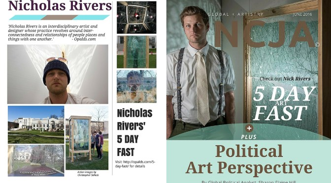 Check Out June's [2016] Issue of The NCJA Magazine ft. #NicholasRivers #NoCriticsJustArtists