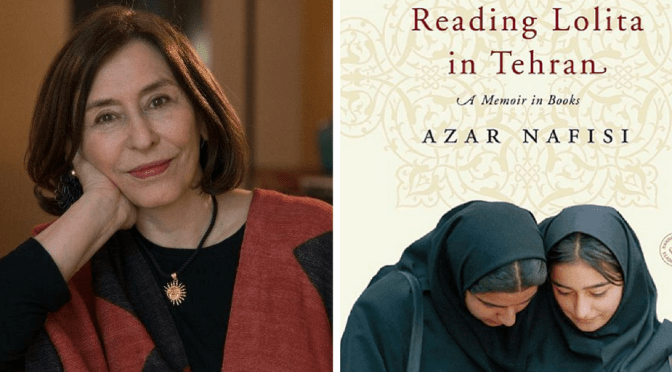 NCJA Oct '16 #BookOfTheMonth : Lolita in Tehran by @AzarNafisi #GlobalLiterature #NoCriticsJustArtists