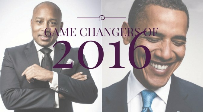 NCJA Game Changer(s) Of The Year… #UnitedStates @POTUS & PAGE Ambassador/Entrepreneur @TheSharkDaymond #NoCriticsJustArtists