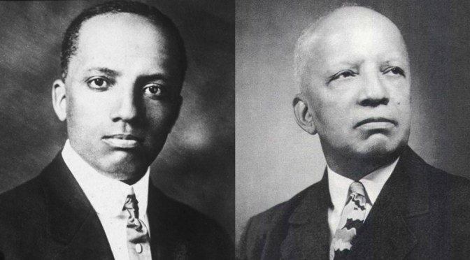 NCJA Game Changer Of The Month #African-American #historian #CarterWoodson #NoCriticsJustArtists