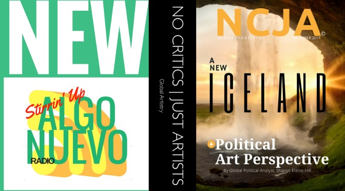 *A New #Iceland – Read about #Iceland 's social & #environmental #movement in the December issue of N C J A #NoCriticsJustArists
