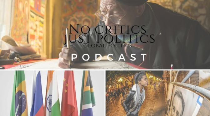 Check out the @No_Critics Just Politics #Podcast Episode 6 hosted by #SharonElaineHill on #NoCriticsJustPolitics #NoCriticsJustArtists
