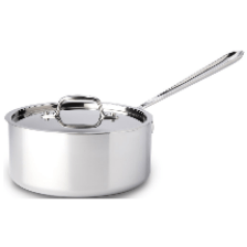 all clad 3 qt saucepan