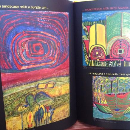 Inside the Hundertwasser book