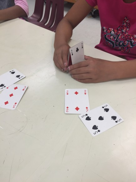 Exercise in balance - building a house of cards
