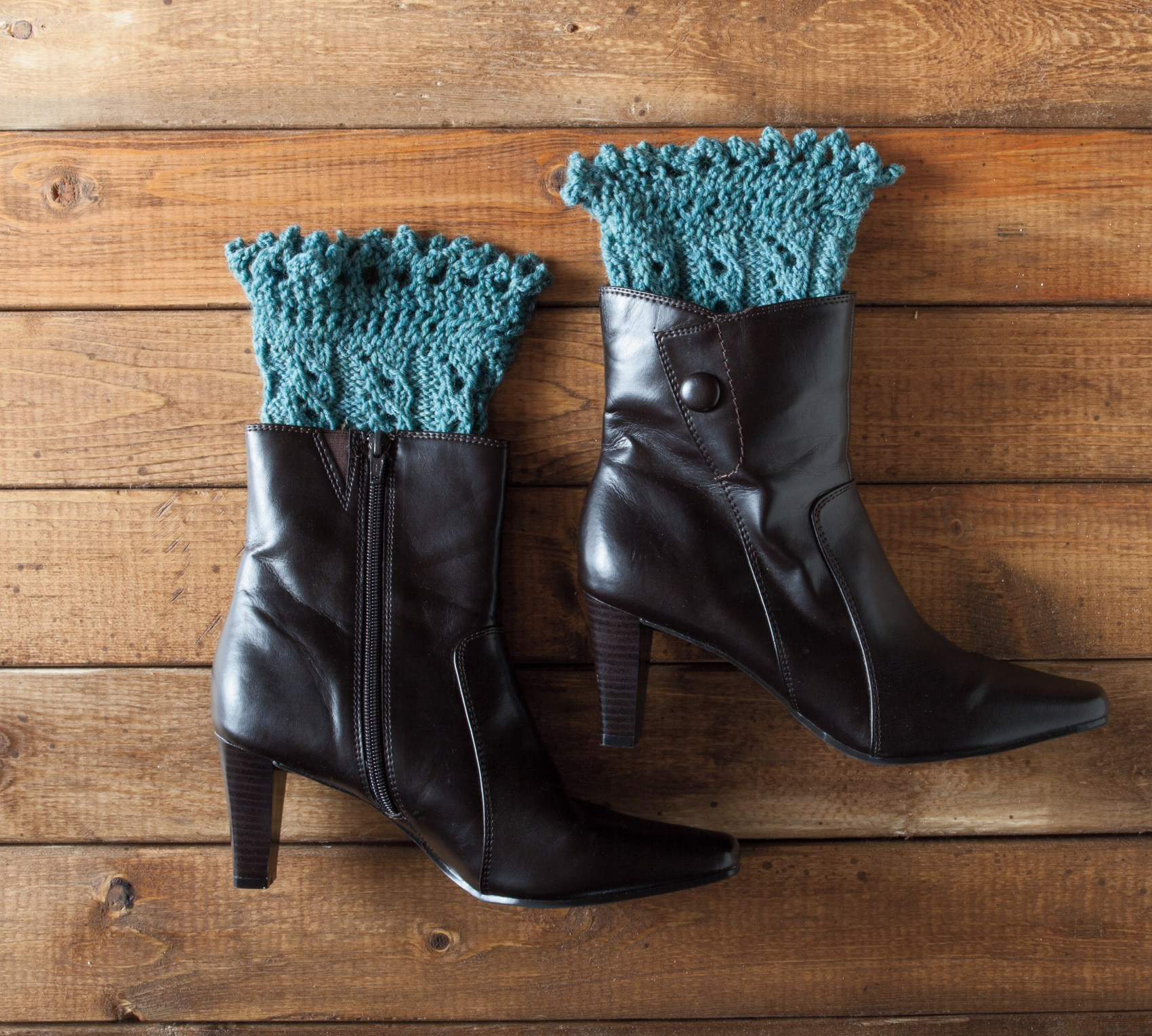 Pikabu Boot Toppers | Original Knitting Pattern by Laura Birek ...
