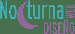 logotipo nocturna diseño web madrid