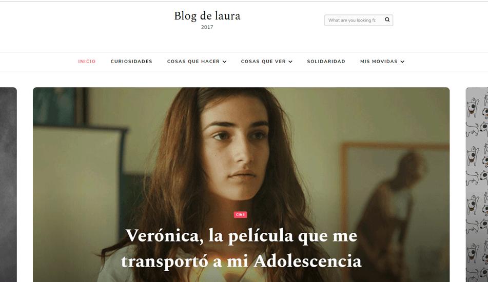pagina web blogdelaura