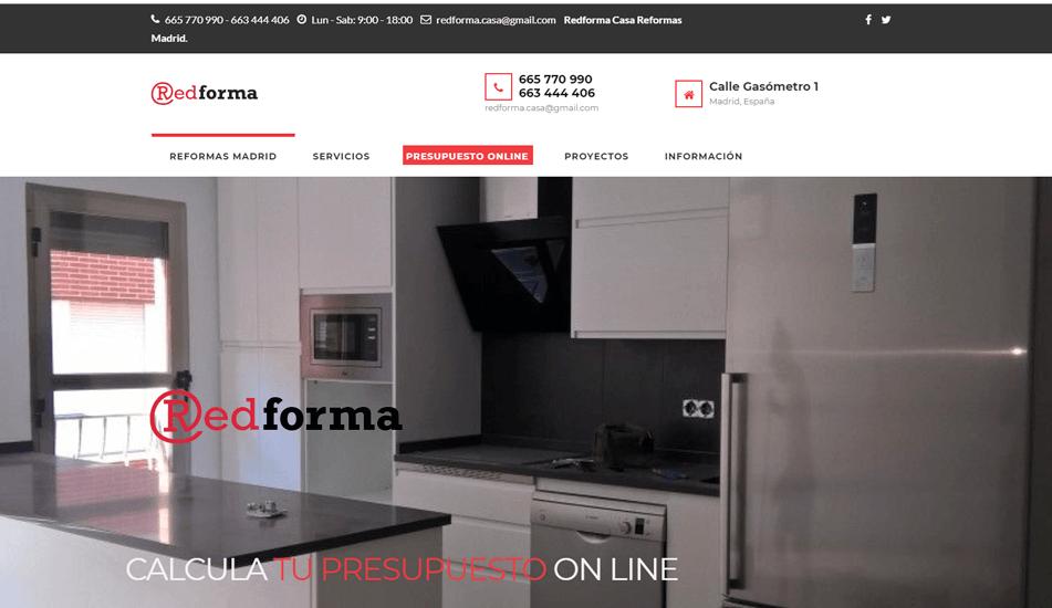 pagina web redformacasa