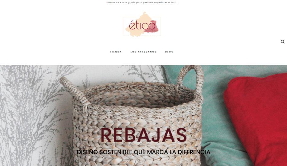 pagina web tienda eticamarket