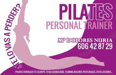 Diseño creación de Tarjetas de visita para profesional de Personal Trainer y Pilates