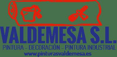 Diseño de Logotipo según orden del cliente y a pincelada para empresa de pintura Valdemesa
