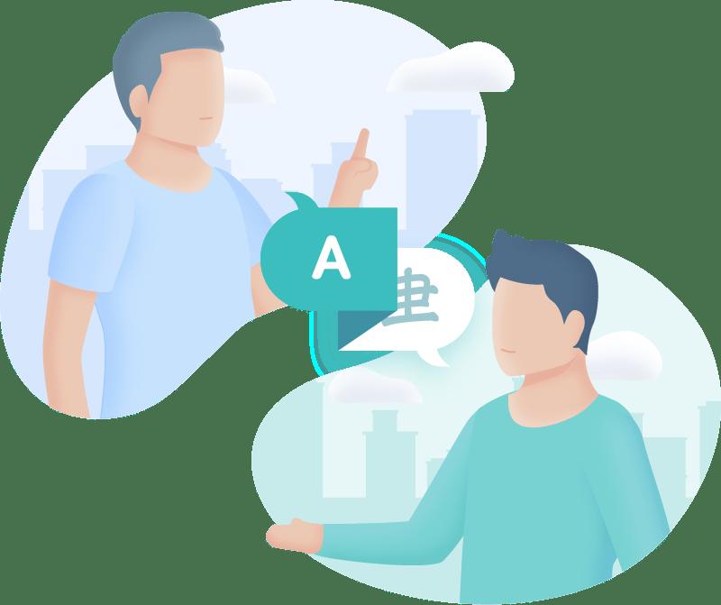 language school illustration 01